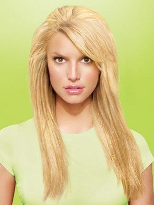 "Color N/A | 25"" Layered Straight by Jessica Simpson"