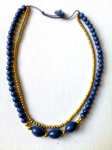 Blue ChiChi Necklace - Funkecomedina