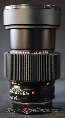 Seamless Follow Focus Gear for Leica 100mm f2.8 APO Macro Elmarit - R