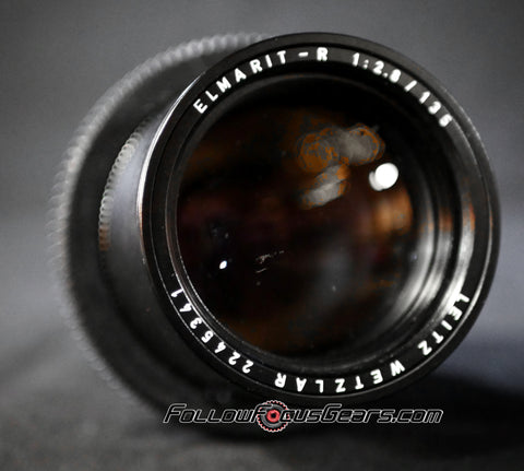 Seamless Follow Focus Gear for Leica 135mm f2.8 Elmarit - R (Mark I)