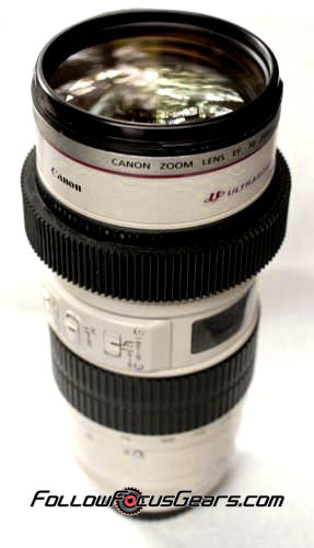 Seamless Follow Focus Gear Ring for <b>Canon EF 70-200mm f2.8 L Series USM (Non IS)</b> Lens