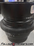 Seamless™ Follow Focus Gear Ring for <b>Zeiss 50mm f1.4 ZE Planar</b> Lens