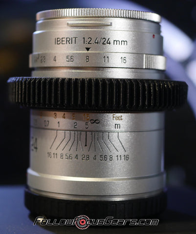 Seamless Follow Focus Gear for HandeVision 24mm f2.4 Iberit Lens