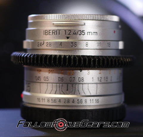 Seamless Follow Focus Gear for HandeVision 35mm f2.4 Iberit Lens