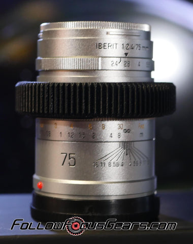 Seamless Follow Focus Gear for HandeVision 75mm f2.4 Iberit Lens