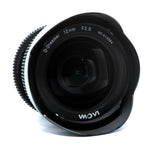 Cine Lens Gear for Laowa 12mm f2.8 C Dreamer