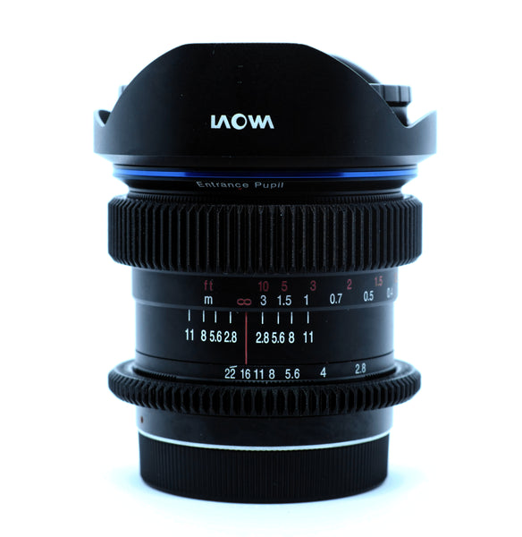 Seamless Focus Gear for Laowa 12mm f2.8 C Dreamer