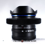 Lens Gear for Venus Optics Laowa 9mm f2.8 C Dreamer