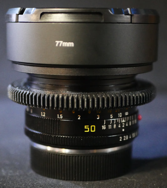 Seamless™ Follow Focus Gear for <b>Leica 50mm f2 Summicron - R II</b> Lens
