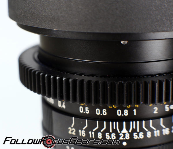 Seamless™ Follow Focus Gear for <b>Leica 35mm f2.8 Elmarit - R I</b> Lens