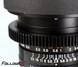 Seamless™ Follow Focus Gear for <b>Leica 35mm f2.8 Elmarit - R III</b> Lens