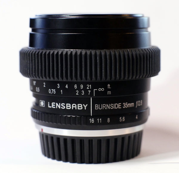 Seamless Follow Focus Gear for <b>LensBaby 35mm f2.8 Burnside</b> Lens