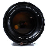 Seamless Follow Focus Gear for Mamiya C 80mm f1.9 N Lens