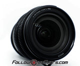 Seamless Follow Focus Gear for Nikon Z 24-70mm f2.8 S Lens