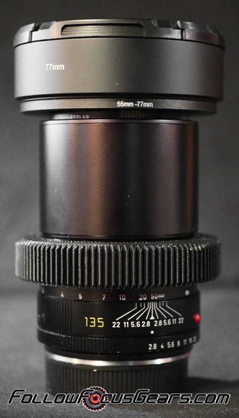 Seamless Follow Focus Gear for Leica 135mm f2.8 Elmarit - R II
