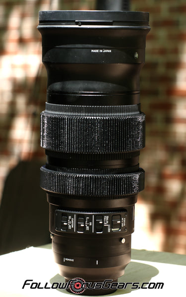 Seamless Follow Focus Gear for Sigma 120-300mm f2.8 DG Sport Lens