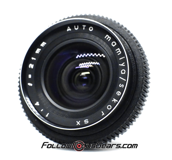 Seamless Follow Focus Gear for Mamiya Sekor SX 21mm f4 Lens