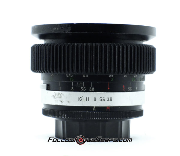 Seamless Follow Focus Gear for Soligor 21mm f3.8 Wide Auto Lens