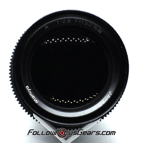 Seamless Follow Focus Gear for Mamiya Sekor A 150mm f2.8 Lens
