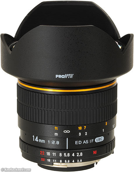 Seamless™ Follow Focus Gear Ring for Rokinon 14mm F2.8 ED AS IF UMC (Gold Stripe) Lens