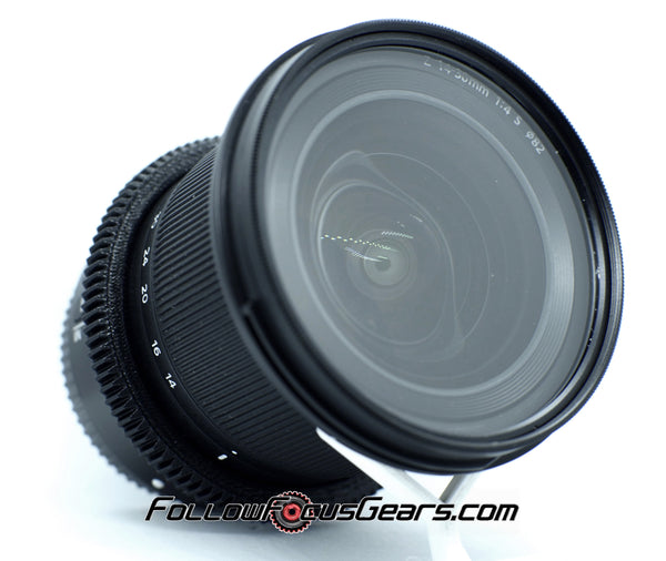 Seamless Follow Focus Gear for Nikon Nikkor Z 14-30mm f4 S Lens
