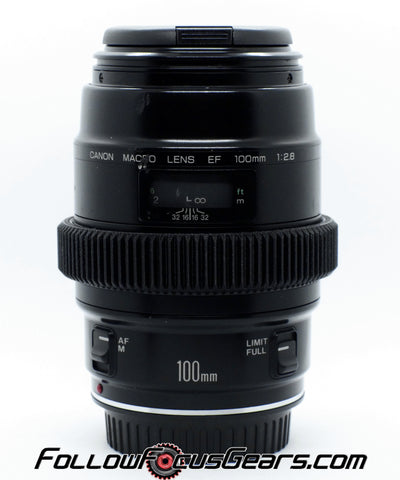 Seamless™ Follow Focus Gear for <b>Canon EF 100mm f2.8 Macro (Non USM / Non - L)</b> Lens