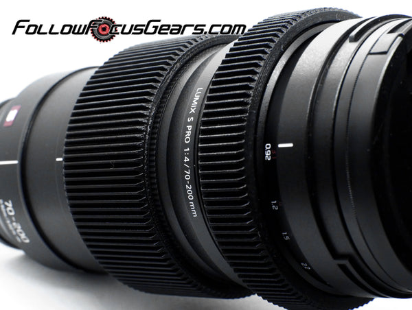 Seamless Follow Focus Gear for Panasonic Lumix 70-200mm f/4 S Pro Lens