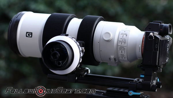 Seamless Follow Focus Gear for Sony FE 200-600mm f5.6-6.3 G OSS Lens