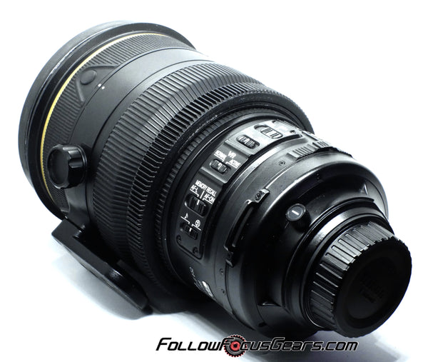 Seamless Focus Gear for Nikon AFS 200mm f2 II Lens