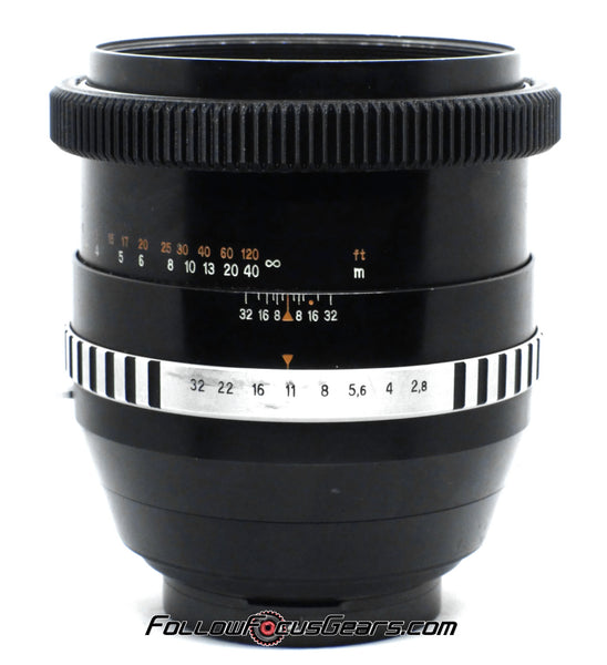 Seamless Focus Gear for Carl Zeiss Jena 180mm f2.8 Zebra Lens