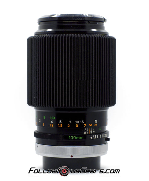 Seamless Follow Focus Gear for Canon FD 100mm f4 S.C. Lens