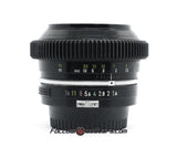 Seamless™ Follow Focus Gear for <b>Nikon - K 50mm f1.4</b> Lens