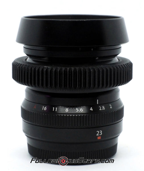 Seamless™ Follow Focus Gear for <b>Fujinon ASPH Super EBC XF 23mm f2 WR</b> Lens