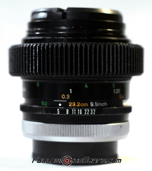 Seamless™ Follow Focus Gear for <b>Canon FD 50mm f3.5 S.S.C. Macro</b> Lens