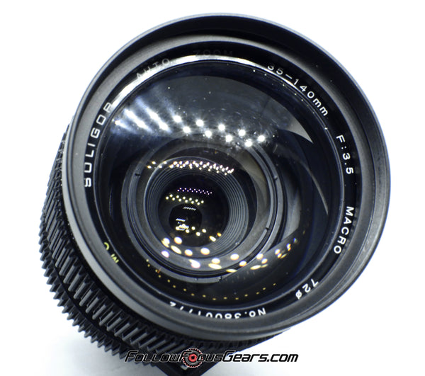Seamless™ Follow Focus Gear for <b>Soligor 35-140mm f3.5 Macro MC</b> Lens