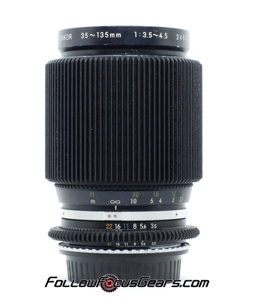 Seamless™ Follow Focus Gear for <b>Nikon 35-135mm f3.5-4.5 AIS</b> Lens