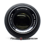 Seamless Follow Focus Gear for Mamiya Sekor 55mm f1.4 Lens