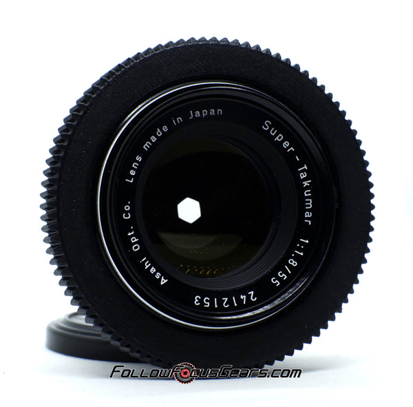 Seamless Follow Focus Gear for Super Takumar 55mm f1.8 Lens