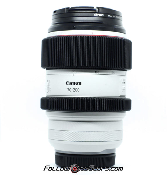 seamless follow focus gear for canon rf 70-200mm f2.8 l is usm lens