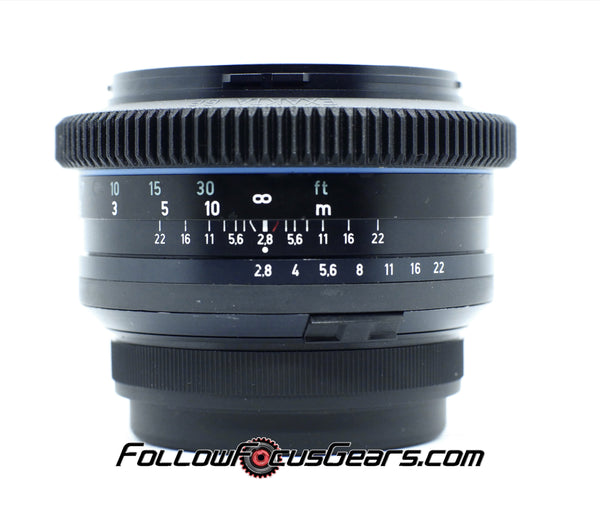 Seamless Follow Focus Gear for Carl Zeiss Jena  80mm f2.8 Biometar Multicoating Exakta 66 Lens