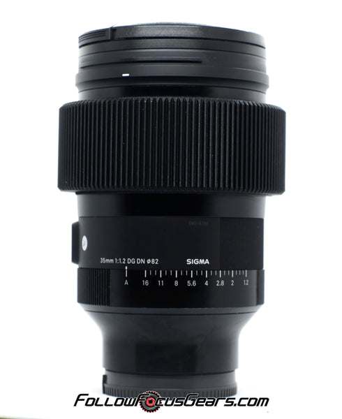 Follow Focus Gear for Sigma 35mm f1.2 DG DN Lens Gear