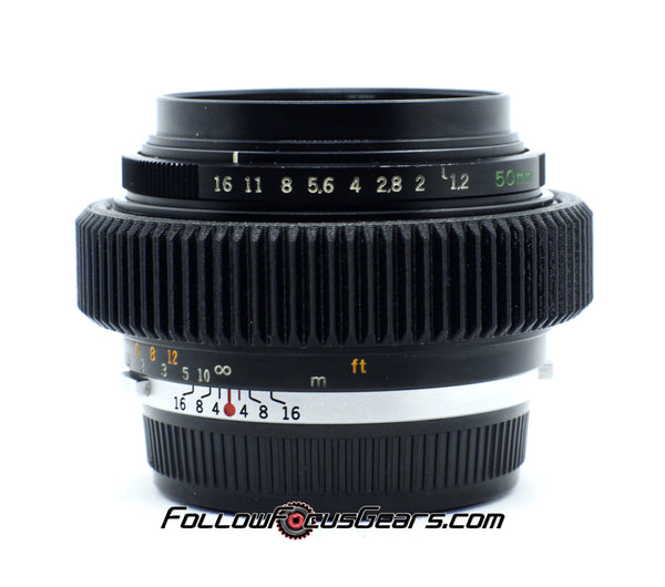 Seamless Follow Focus Gear for Olympus OM S 50mm f1.2 Lens