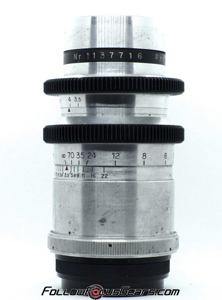 Seamless Follow Focus Gear for Meyer Gorlitz 180mm f3.5 Primotar Lens