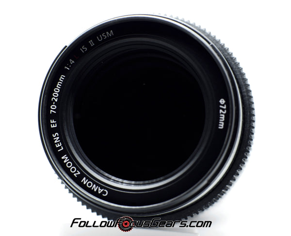 Seamless Follow Focus Gear for Canon EF 70-200mm f4 L II Lens