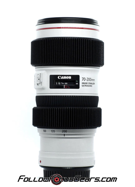 Seamless Follow Focus Gear for Canon EF 70-200mm f/4 L USM II Lens