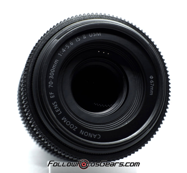 Seamless Follow Focus Gear for Canon EF 70-300mm f4-5.6 IS USM II Lens