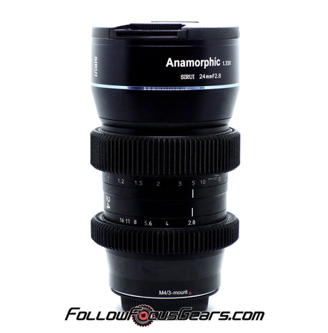 Seamless™ Follow Focus Gear for <b>Sirui 24mm f2.8 Anamorphic 1.33x</b> Lens