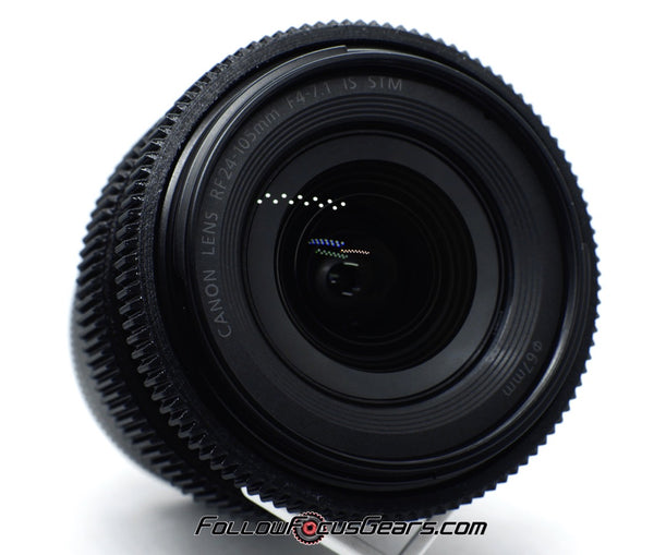 Seamless Follow Focus Gear for Canon RF 24-105mm f4-7.1 f/4-7.1 IS STM