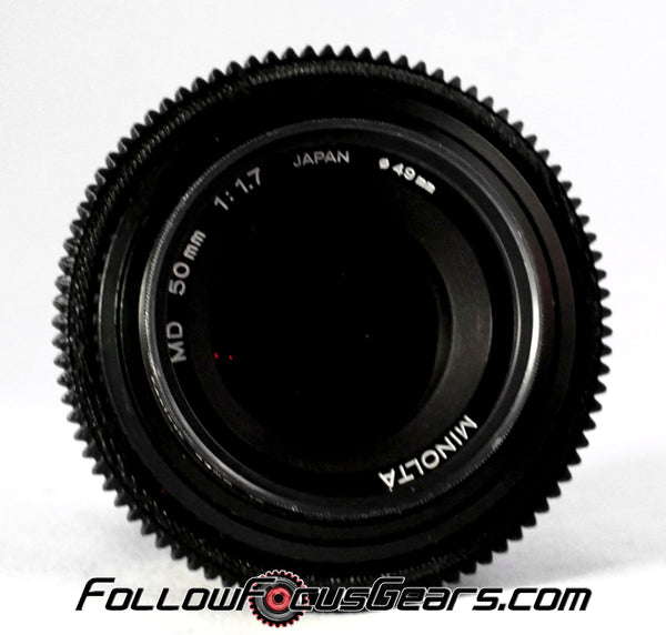 Seamless Follow Focus Gear for Minolta MD 50mm f1.7 Lens