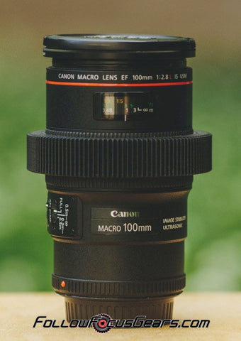 Seamless™ Follow Focus Gear for <b>Canon EF 100mm f2.8 L Series IS USM Macro</b> Lens